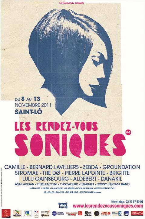 Visuel des Rendez-Vous Soniques 2011